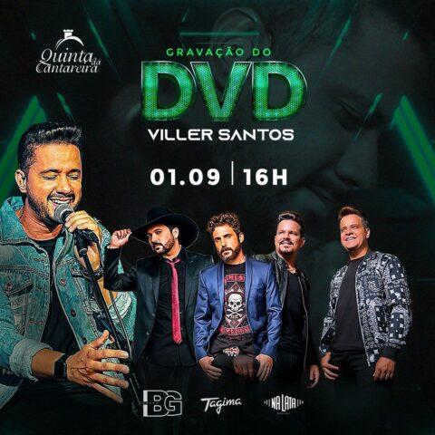 Viller Santos grava DVD em São Paulo com duplas consagradas